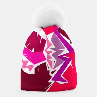 Thumbnail image of Design beanie Camu pink wild, Live Heroes