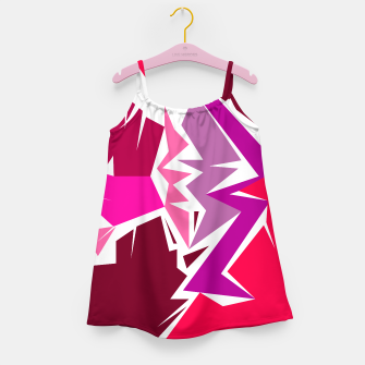 Thumbnail image of Girls dress camu elements wild pink, Live Heroes