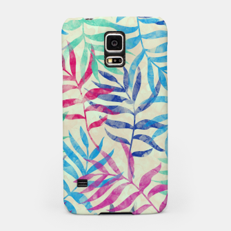 Imagen en miniatura de Watercolor Tropical Palm Leaves  Samsung Case, Live Heroes