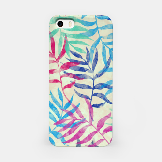 Imagen en miniatura de Watercolor Tropical Palm Leaves  iPhone Case, Live Heroes