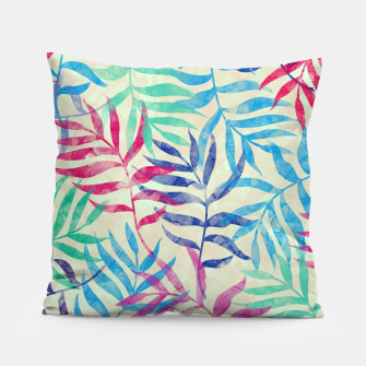 Imagen en miniatura de Watercolor Tropical Palm Leaves  Pillow, Live Heroes