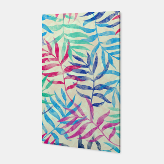 Imagen en miniatura de Watercolor Tropical Palm Leaves  Canvas, Live Heroes