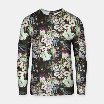 Thumbnail image of Dark flowery colorful bouquet Sudadera de algodón, Live Heroes