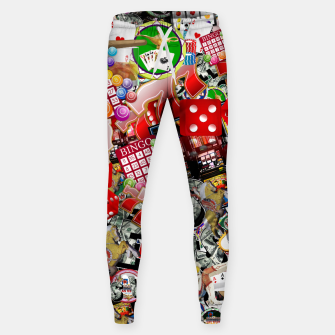 Thumbnail image of Gamblers Delight - Las Vegas Icons Cotton sweatpants, Live Heroes