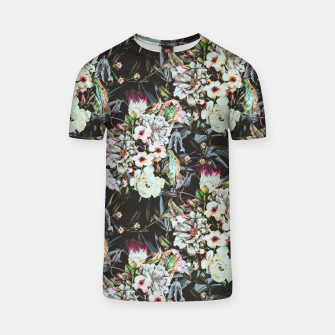 Thumbnail image of Dark flowery colorful bouquet Camiseta, Live Heroes