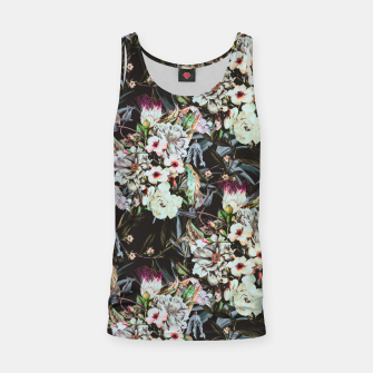 Thumbnail image of Dark flowery colorful bouquet Camiseta de tirantes, Live Heroes