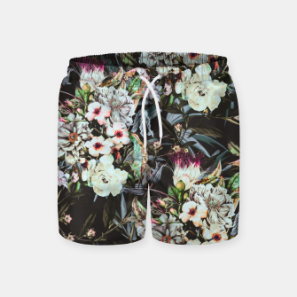 Thumbnail image of Dark flowery colorful bouquet Pantalones de baño, Live Heroes