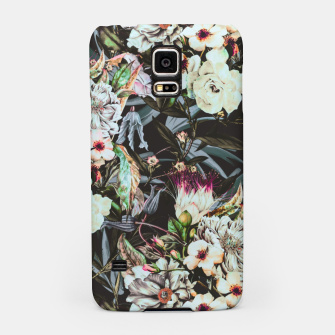Thumbnail image of Dark flowery colorful bouquet Carcasa por Samsung, Live Heroes