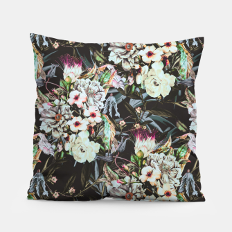 Thumbnail image of Dark flowery colorful bouquet Almohada, Live Heroes