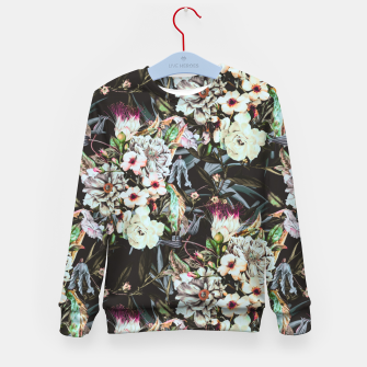 Thumbnail image of Dark flowery colorful bouquet Sudadera para niños, Live Heroes