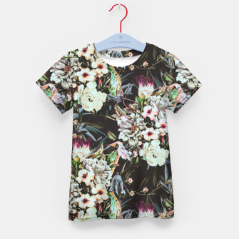 Thumbnail image of Dark flowery colorful bouquet Camiseta para niños, Live Heroes