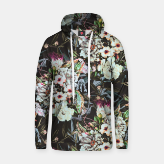Thumbnail image of Dark flowery colorful bouquet Sudadera con capucha de algodón, Live Heroes