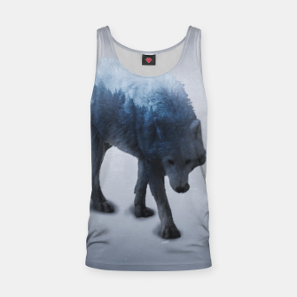 Miniatur Hungry Tank Top, Live Heroes