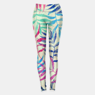 Imagen en miniatura de Watercolor Tropical Palm Leaves  Leggings, Live Heroes