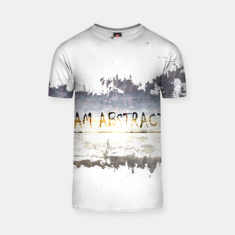 "Thumbnail image of ""I AM ABSTRACT T-Shirt, Live Heroes"