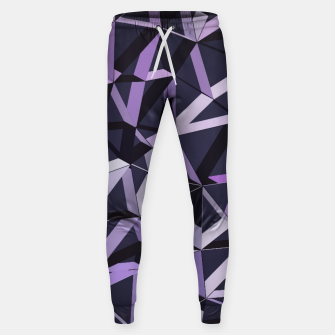 Thumbnail image of 3D Futuristic GEO Lines VII Cotton sweatpants, Live Heroes
