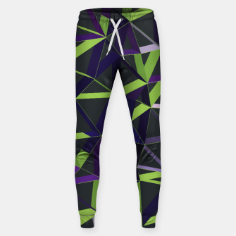 Thumbnail image of 3D Futuristic GEO Lines VIII Cotton sweatpants, Live Heroes