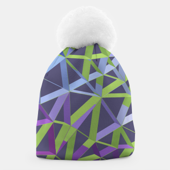 Thumbnail image of 3D Futuristic GEO Lines XIV Beanie, Live Heroes