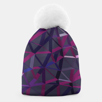 Thumbnail image of 3D Futuristic GEO Lines IX Beanie, Live Heroes