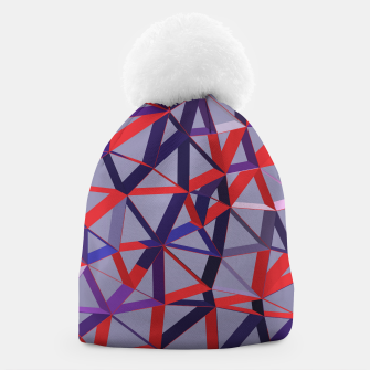 Thumbnail image of 3D Futuristic GEO Lines XIII Beanie, Live Heroes
