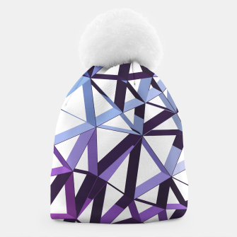 Thumbnail image of 3D Futuristic GEO Lines XV Beanie, Live Heroes