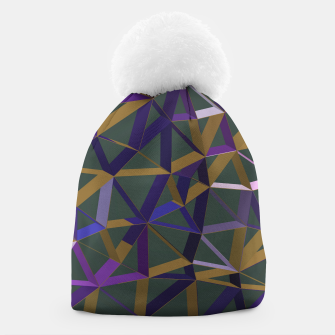 Thumbnail image of 3D Futuristic GEO Lines XII Beanie, Live Heroes