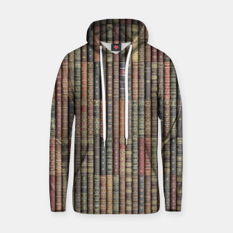 Thumbnail image of Keep Reading Cotton hoodie, Live Heroes