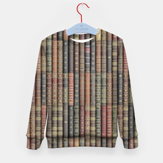 Thumbnail image of Keep Reading Kid's sweater, Live Heroes