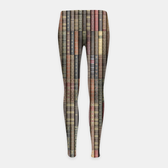 Thumbnail image of Keep Reading Girl's leggings, Live Heroes