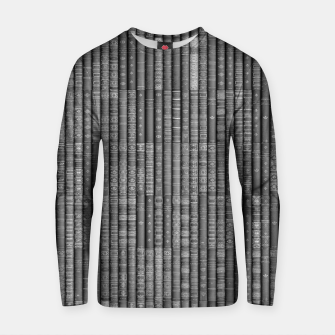 Keep Reading B&W Cotton sweater thumbnail image