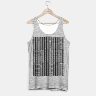 Thumbnail image of Keep Reading B&W Tank Top regular, Live Heroes