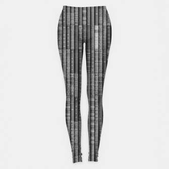 Keep Reading B&W Leggings thumbnail image