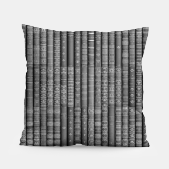 Thumbnail image of Keep Reading B&W Pillow, Live Heroes