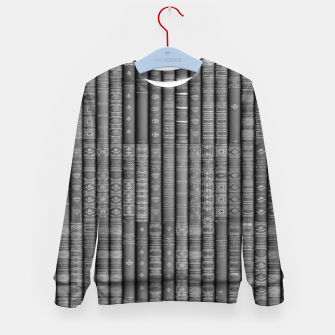 Thumbnail image of Keep Reading B&W Kid's sweater, Live Heroes