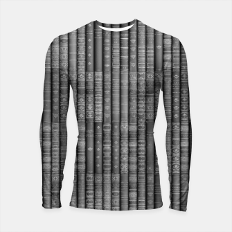Keep Reading B&W Longsleeve rashguard  thumbnail image