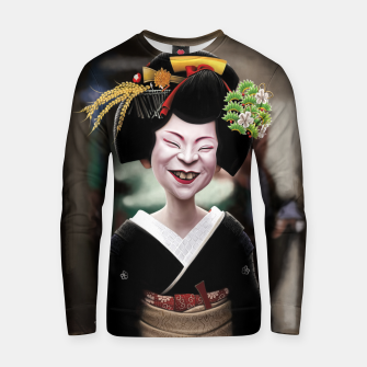 Thumbnail image of The Ugly Geisha Cotton sweater, Live Heroes