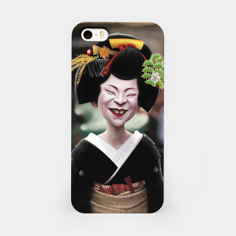 Thumbnail image of The Ugly Geisha iPhone Case, Live Heroes