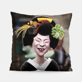 Thumbnail image of The Ugly Geisha Pillow, Live Heroes