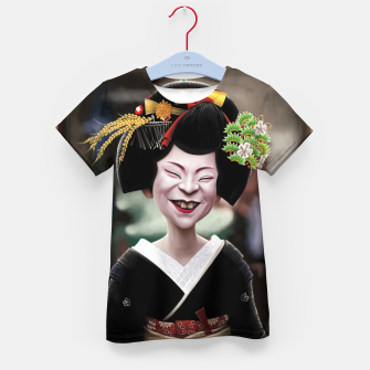 The Ugly Geisha Kid's t-shirt thumbnail image