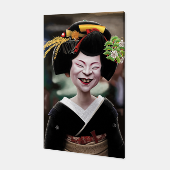 The Ugly Geisha Canvas thumbnail image