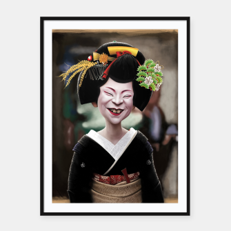 Thumbnail image of The Ugly Geisha Framed poster, Live Heroes