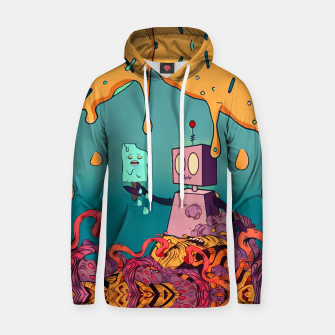 Thumbnail image of Robot Cotton hoodie, Live Heroes