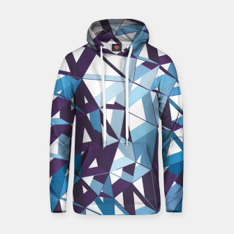 Thumbnail image of 3D Futuristic GEO Lines XXXIII Cotton hoodie, Live Heroes