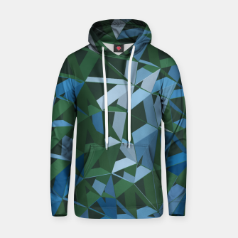 Thumbnail image of 3D Futuristic GEO Lines XXXIV Cotton hoodie, Live Heroes