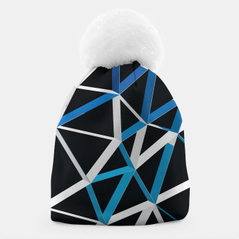Thumbnail image of 3D Futuristic GEO Lines XVIII Beanie, Live Heroes