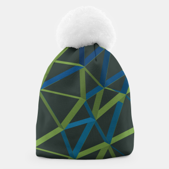 Thumbnail image of 3D Futuristic GEO Lines XIX Beanie, Live Heroes