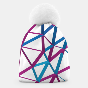 Thumbnail image of 3D Futuristic GEO Lines XX Beanie, Live Heroes