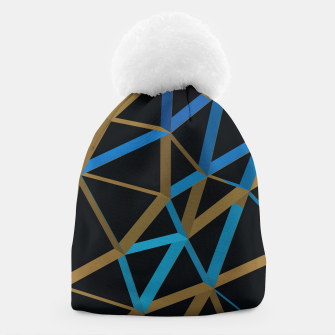 Thumbnail image of 3D Futuristic GEO Lines XXI Beanie, Live Heroes