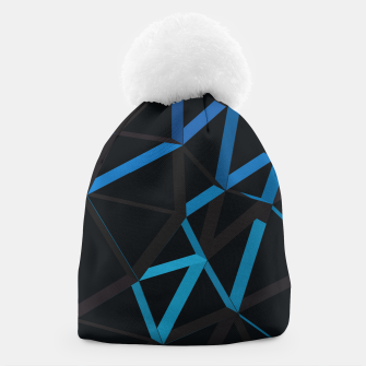 Thumbnail image of 3D Futuristic GEO Lines XXII Beanie, Live Heroes