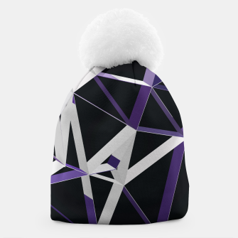 Thumbnail image of 3D Futuristic GEO Lines XXIII Beanie, Live Heroes